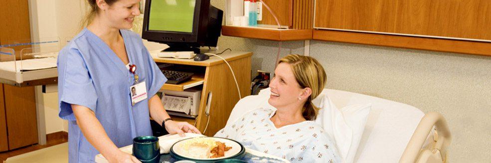 Food services at St. Margaret's Hospital