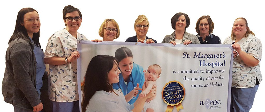 St. Margaret's Obstetrics Unit Receives Quality Award